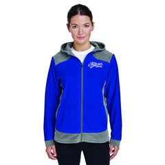 BLUEJAYS - Team 365 Ladies' Rally Colorblock Microfleece Jacket