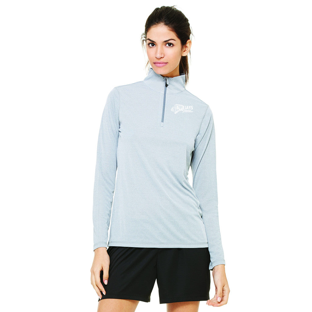 BLUEJAYS - All Sport Ladies' Quarter-Zip Lightweight Pullover