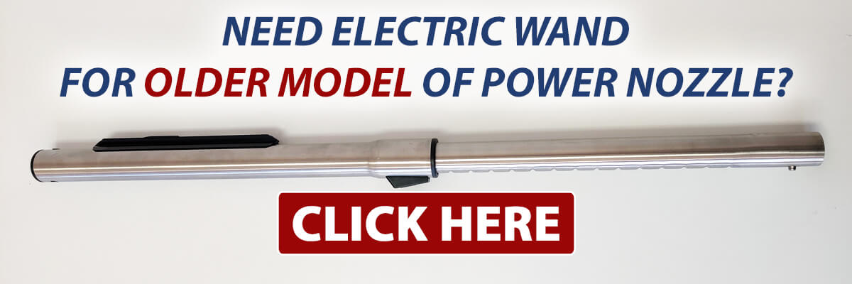 Find the Sirena electric wand that fits the OLDER model of the Sirena power nozzle.
