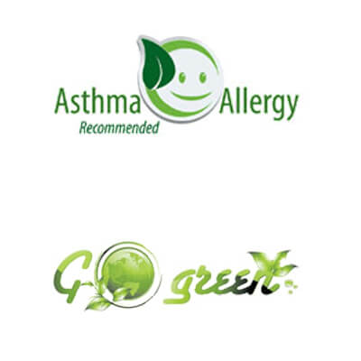 Sirena is Asthma and Allergy Recommended. Go Green.