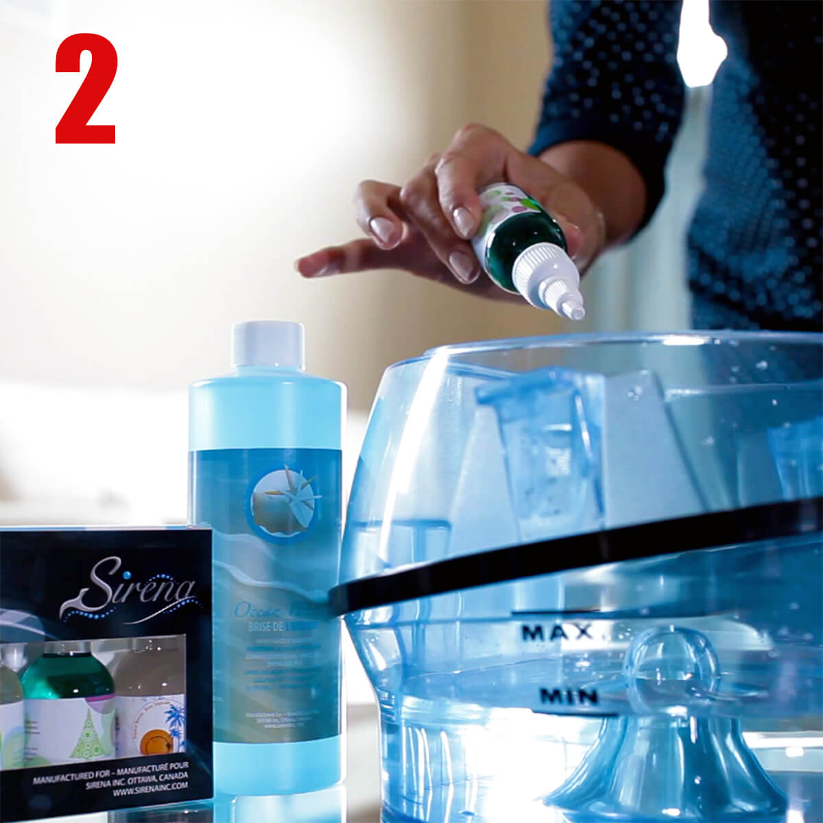 How To Use Your Sirena Vacuum Cleaner - Step 2
