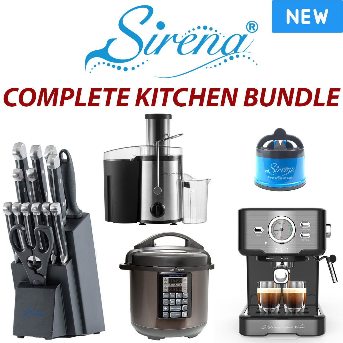 Sirena Complete Kitchen Bundle