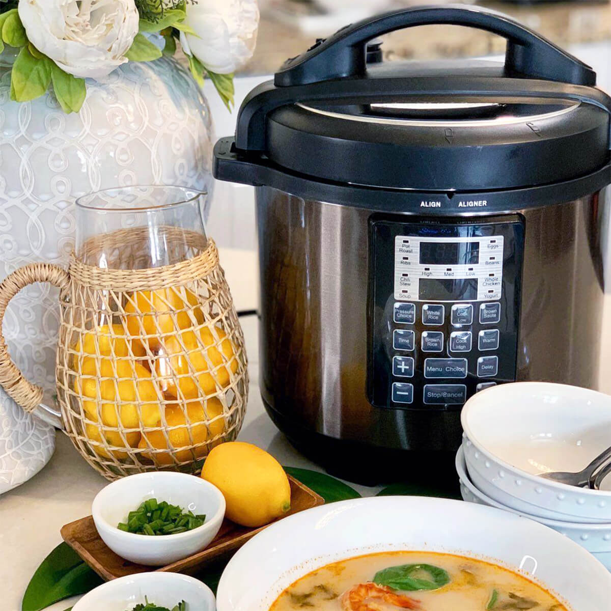 Sirena Rapid Pot, 15-in-1 Pressure Cooker