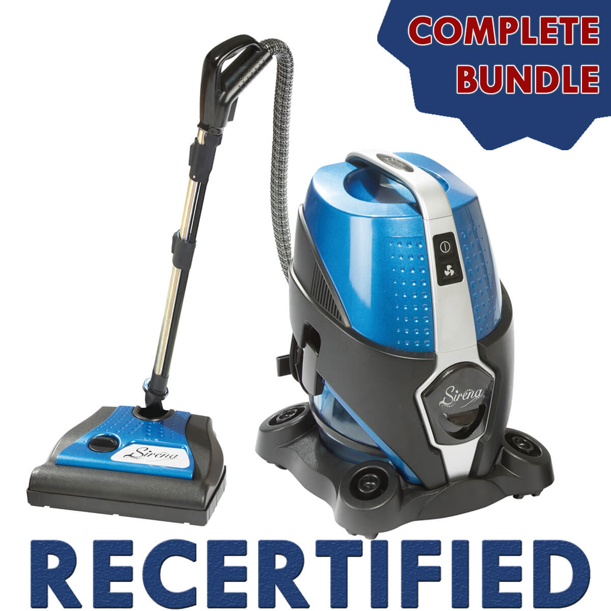Sirena Recertified Complete Bundle (w/ Quick-Connect Power Nozzle)