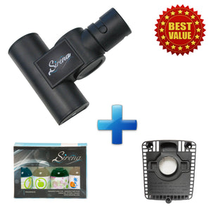 Sirena Turbo Brush + Sirena Fragrances + Replacement HEPA Filter (BUNDLE)