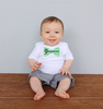 Set of 5 Month 2 Month Baby Milestone Chevron Bow Tie Collection