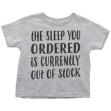 The Sleep You Ordered