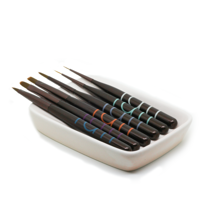 Tati Brush Dish (Peach)