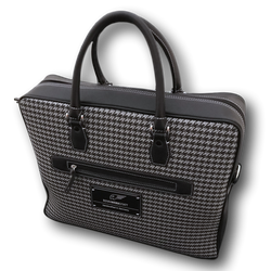 LapTop Bag - Houndtooth 'R' (modern)