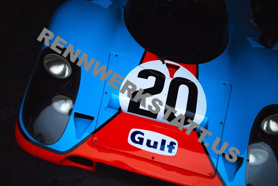ArtWork - Aaron Miletich - Photography - Porsche 917 Gulf #20 Landscape