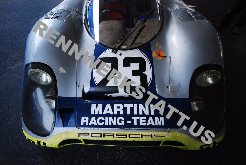 Aaron Miletich - Photography - Porsche 917 Martini #23 Patina