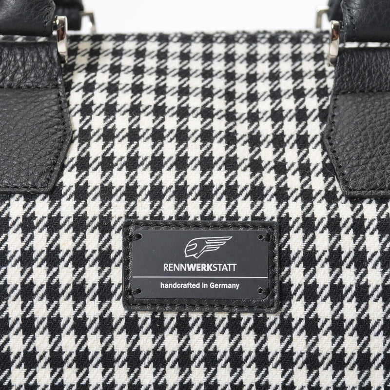 BackFire Handbag - Houndstooth