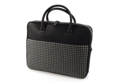 Special Sale - Business Bag - Houndtooth 'R' (modern)