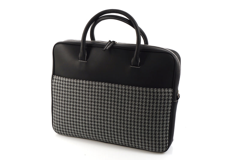Business Bag - Houndtooth 'R' (modern)