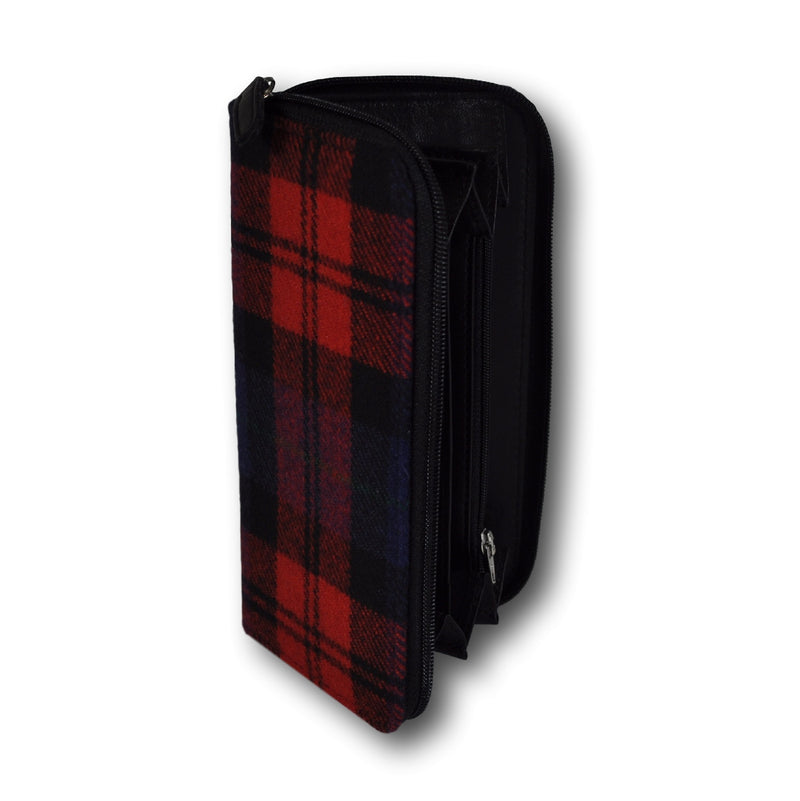 BigSpender / Ladies Purse - Tartan Red-Blue-Black