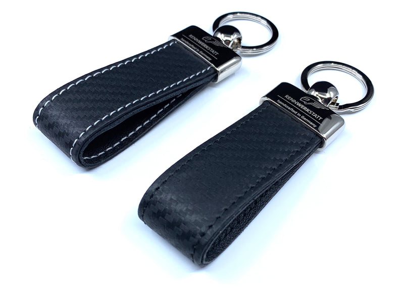 KeyRing - Carbon Leather