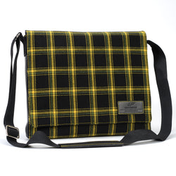 Messenger Bag - Tartan Yellow