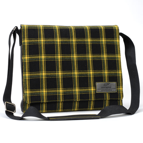 Classics - Tartan - Messenger Bag - Yellow