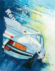 ArtWork - Steffen Imhof - Art-Edition Porsche Driver - Porsche 911 Carrera RS