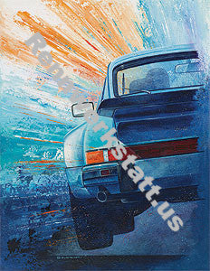 ArtWork - Steffen Imhof - Art-Edition Porsche Driver - Porsche 911 Turbo