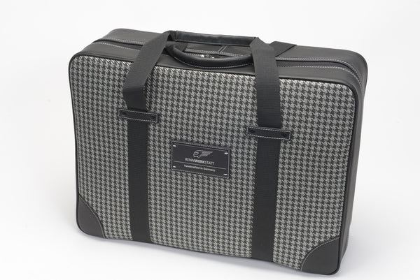 Traveler Bag - Houndstooth 'R' (modern)