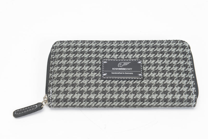 Special Sale - BigSpender / Ladies Purse - Houndtooth 'R' (modern)