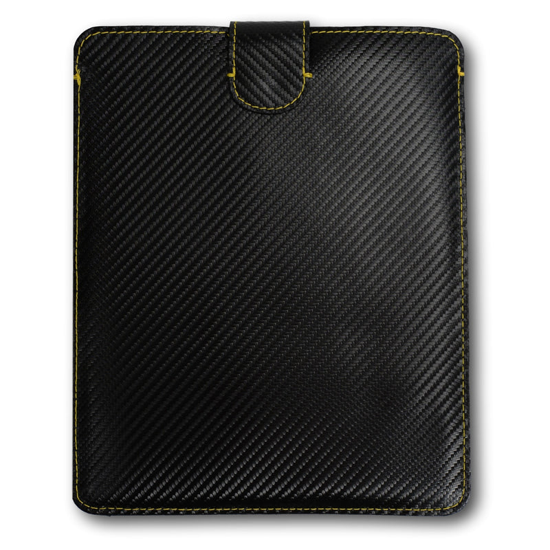 Tablet / iPad Cover - Grand Tourismo (GT) Black-Yellow