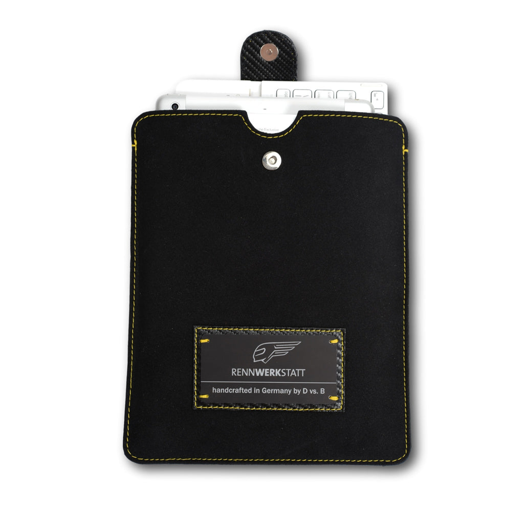 GT - Grand Tourismo - Tablet / iPad Cover - Black-Yellow