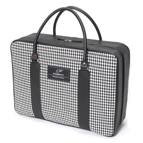 Classics - Houndstooth - Traveler Bag
