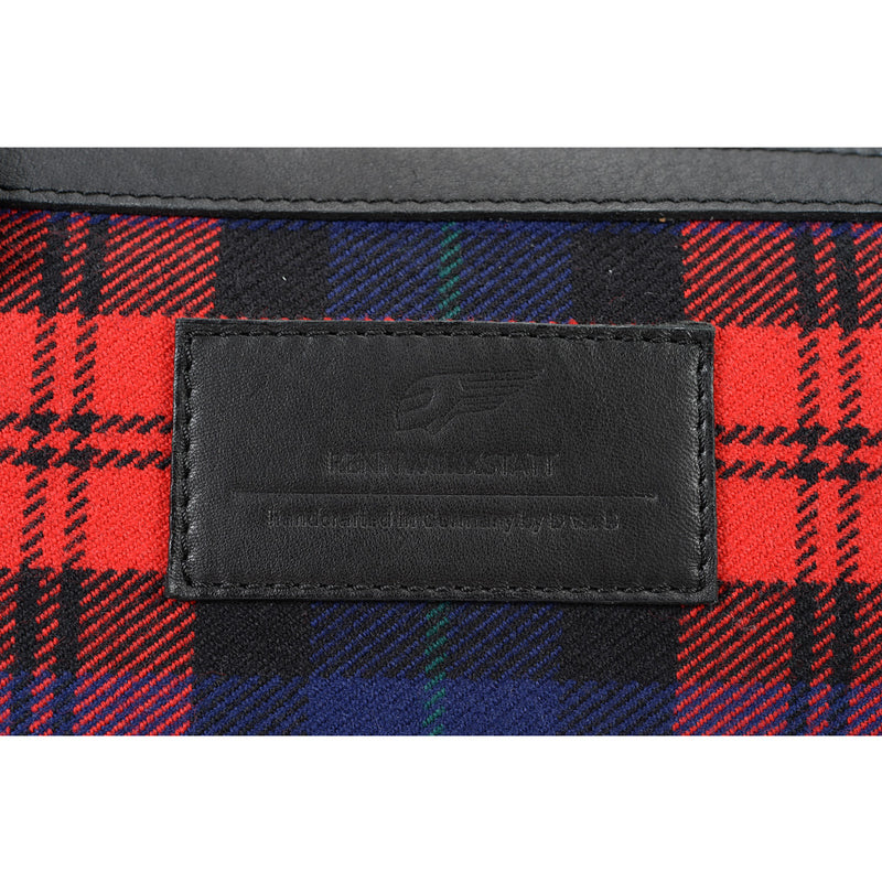 WeekEnder Bag - Tartan Red-Blue-Black