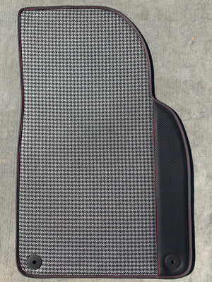 RENNWERKSTATT® Floor Mats Houndstooth for Porsche 911 (991)