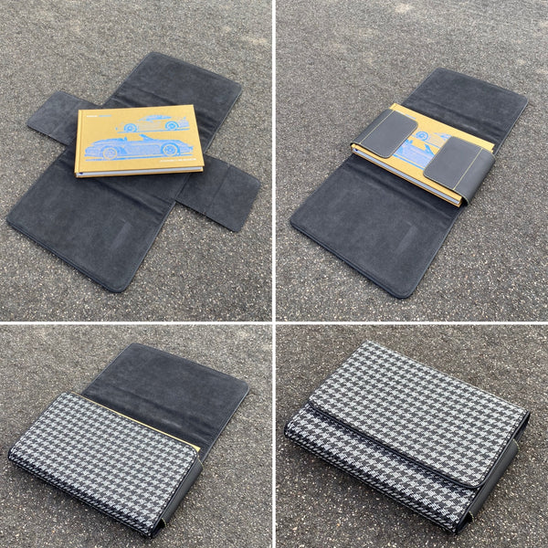 Owner's Manual Cover/Wallet - Houndstooth (modern)