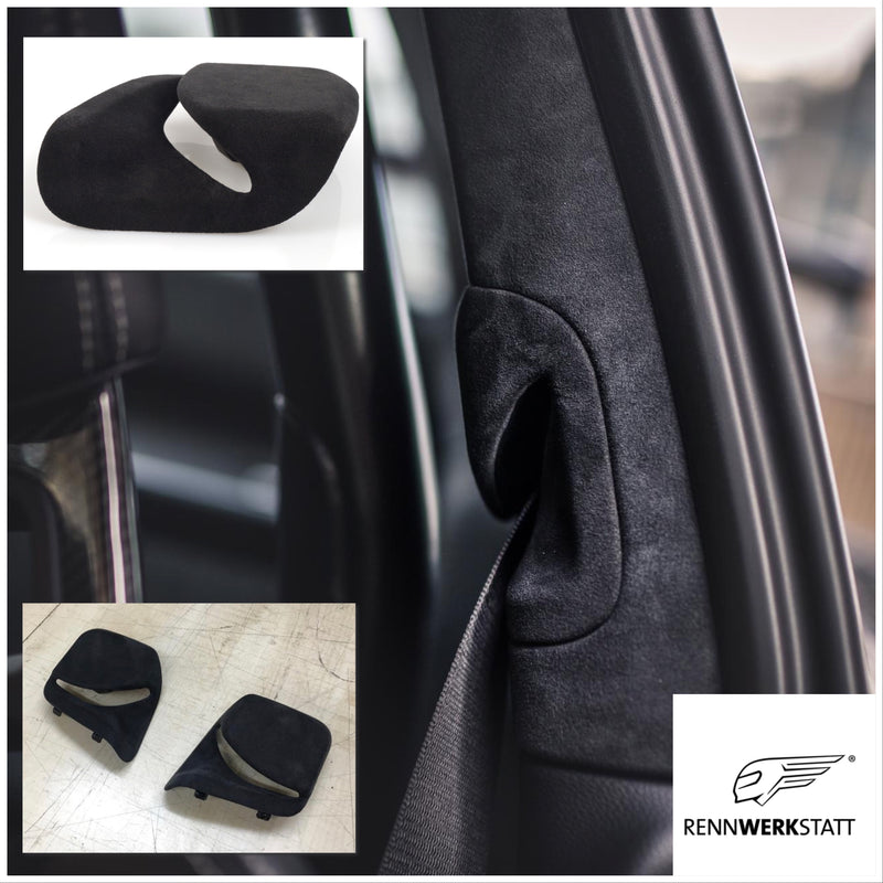911 (991) Customization - Seat Belt Outlet in Alcantara/Leather (without core trade-in)