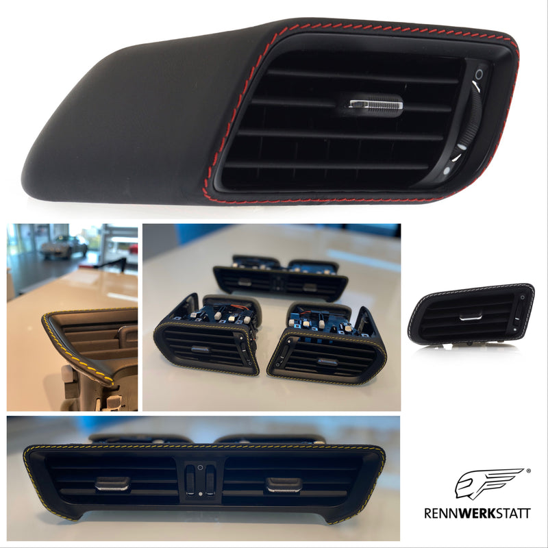 911 (991) Customization - Air Vents in Leather (CTK) (with/without core trade-in)
