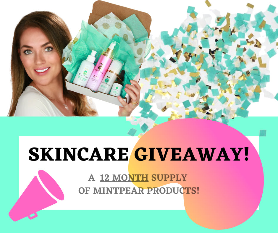 MintPear's Quarterly Skincare Giveaway