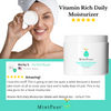 Vitamin Rich Daily Moisturizer (Made with Retinyl) - 4oz