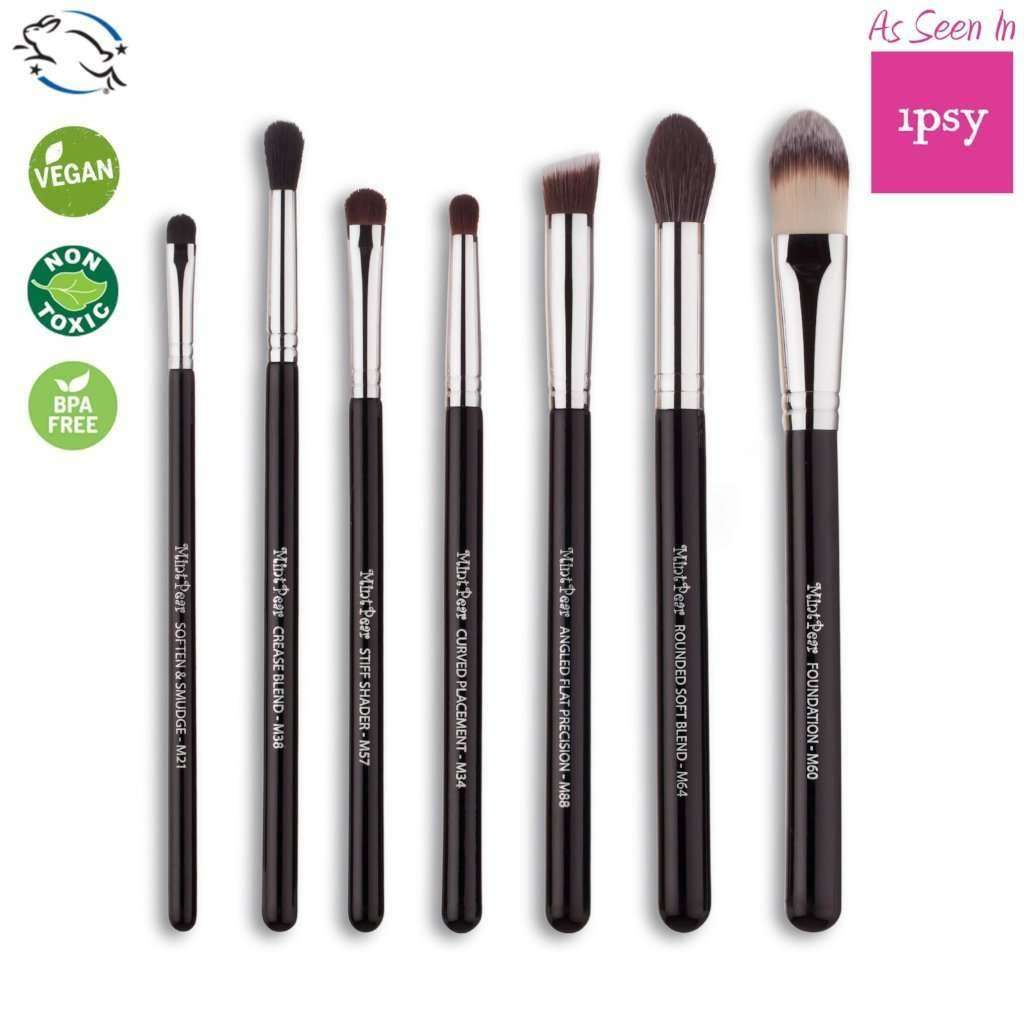 Applicators & Tools - 7 Piece Makeup Brush Set