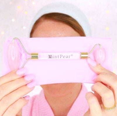 Applicators & Tools - Rose Quartz Roller