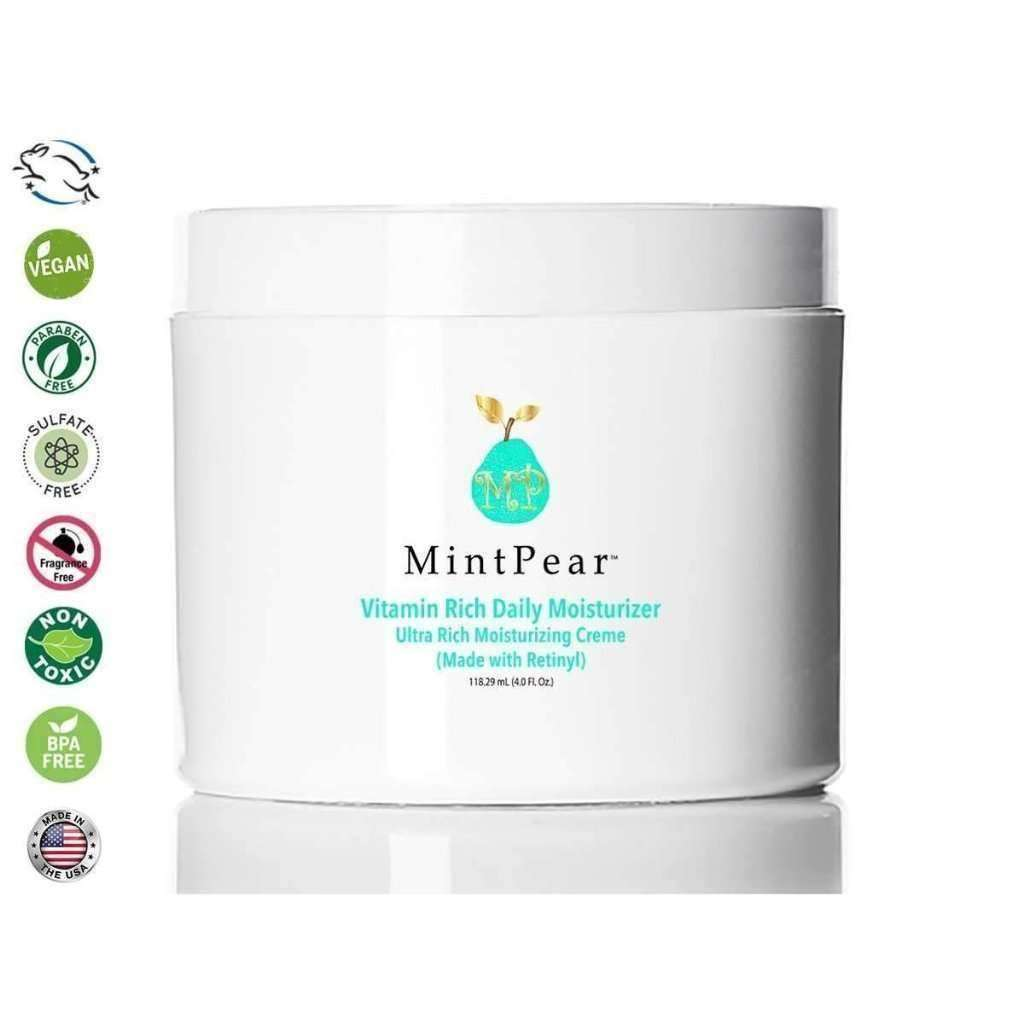 Vitamin Rich Daily Moisturizer (Made with Retinyl) - 4oz - MintPear