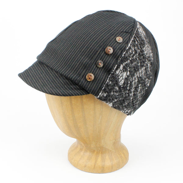 Women's hat black color