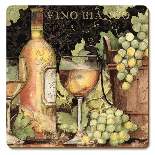 "Coasters ""Bright Wine"" Hardboard"