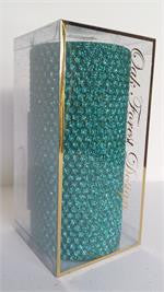 "Candles 3""x 6"" Seafoam Metallic Pillar by Oak Forest Design"