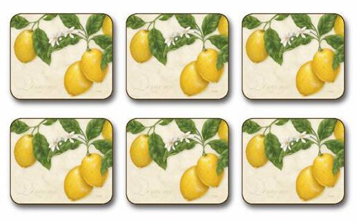 "Coasters ""Limone"" by Jason Products"