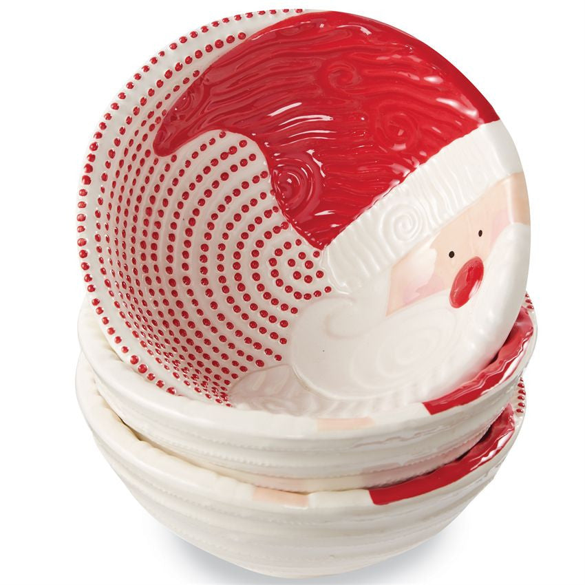 St. Nick Ticking Dip/Nut Bowl