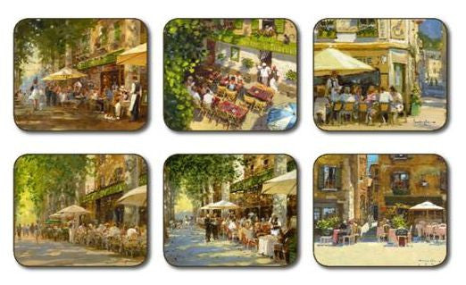 "Coasters ""Mediterranean Summer"" by Jason"