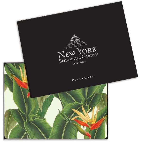"Place Mates ""Heliconia""  New York Botanical Garden Designs"