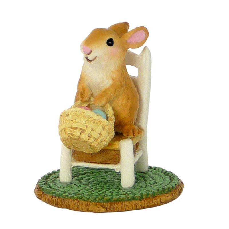 "Wee Forest Folk A-17 ""Bunny's Wee Chair"""