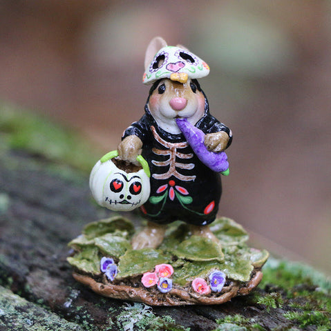 "Wee Forest Folk B-29a ""Dia De Muerto Bunny"" Limited"