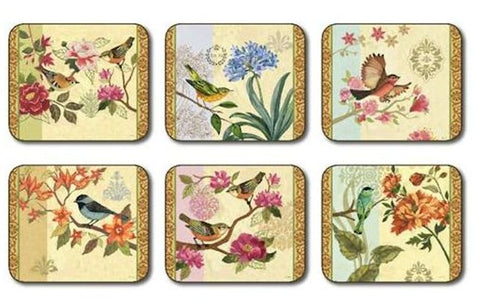 "Coasters ""Bird Studies"" by Jason Products"