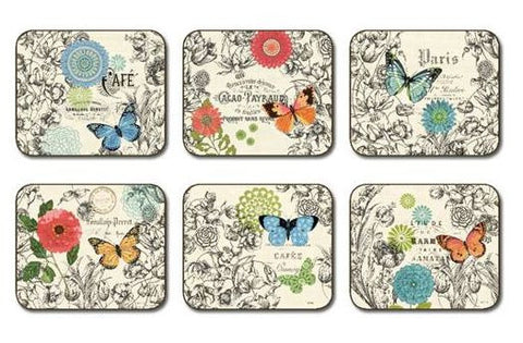 "Coasters ""Butterflies"" by Jason Designs"